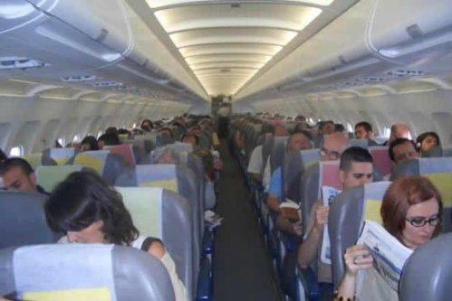 Transporte Aereo_Pasajeros Cabina